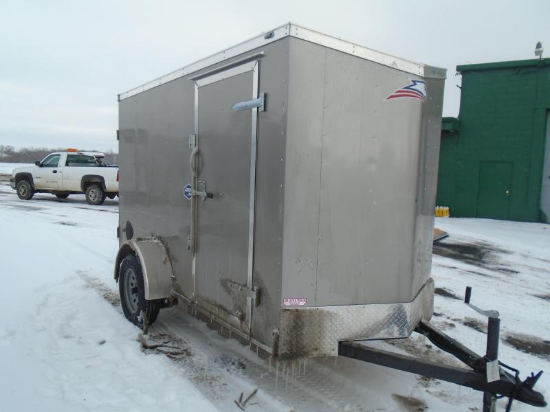2020 American Hauler 5x10 SA Arrow Enclosed Cargo Trailer