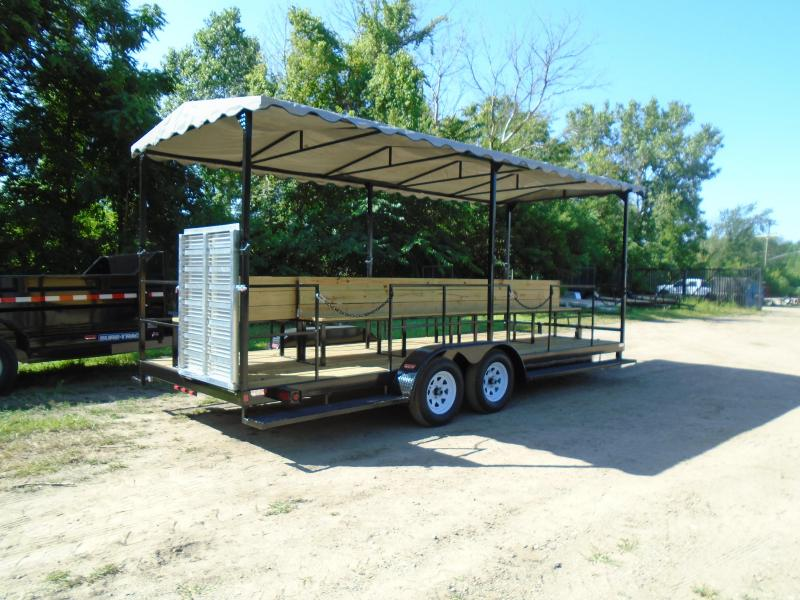 2020 GE 7x20 people mover 7k Trailer