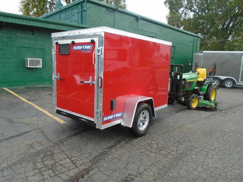 2020 Sure-Trac 5x8 SA Enclosed Cargo Trailer