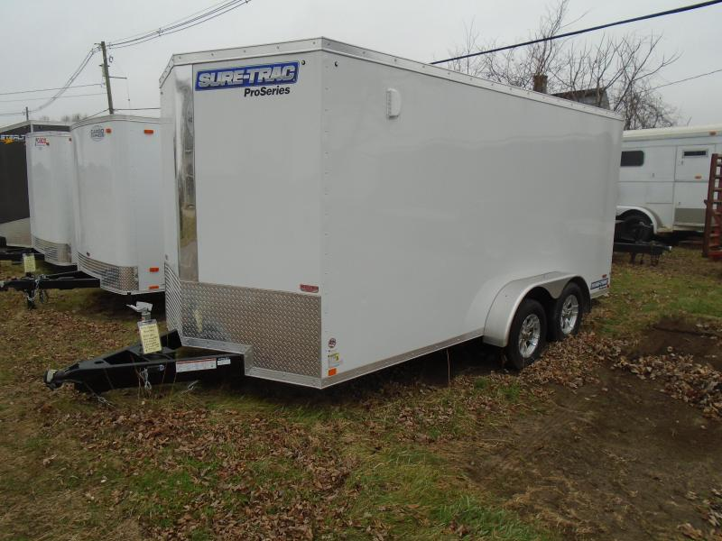 2020 Sure-Trac 7x16 7k Pro Series Enclosed Cargo Trailer