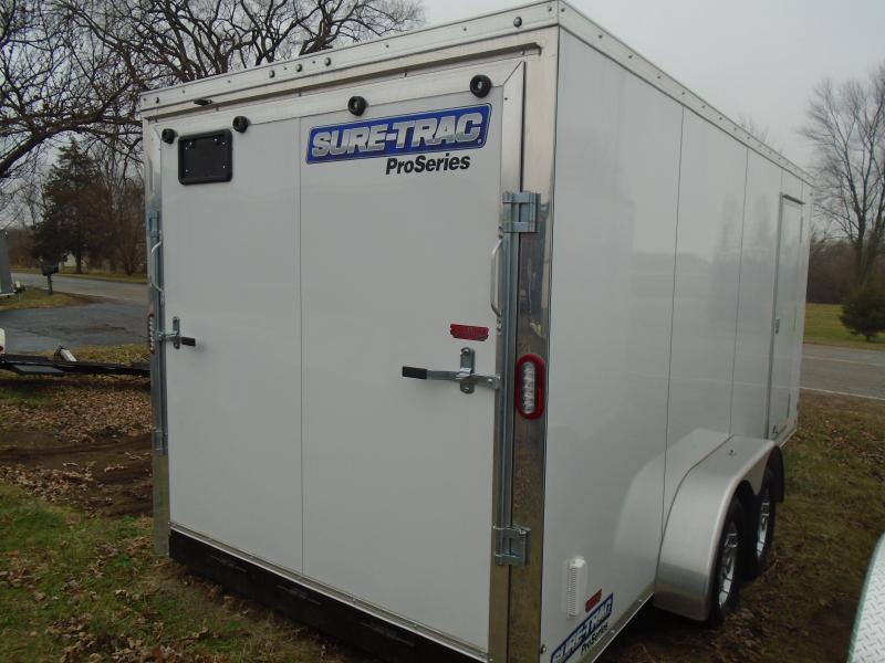 2020 Sure-Trac 7x16 7k Pro Series Enclosed Cargo Trailer