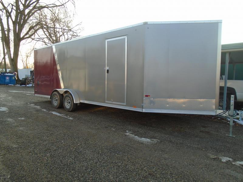 2020 Cargo Express 7x27 AX Series Snowmobile Trailer