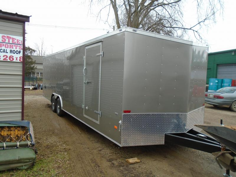 2020 American Hauler 8.5x26 10K Arrow Car / Racing Trailer
