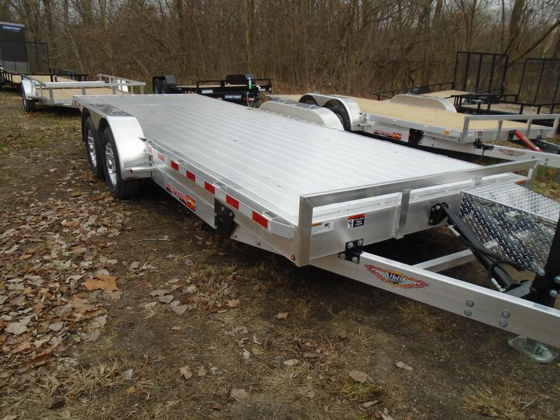 "2020 H & H Trailers 82""x20' 10k speedloader tilt Car / Racing Trailer"