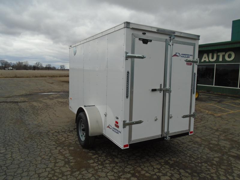 2020 American Hauler 5x10 SA Enclosed Cargo Trailer