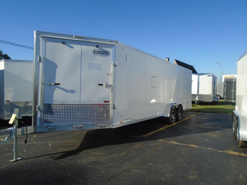 2020 Cargo Express 7x29 AX Series 7k Snowmobile Trailer