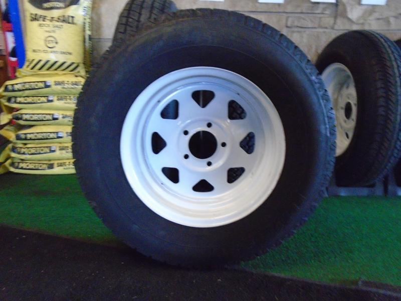 Trailer Tire And Rim Assembly Eds Auto And Trailers Union City Mi