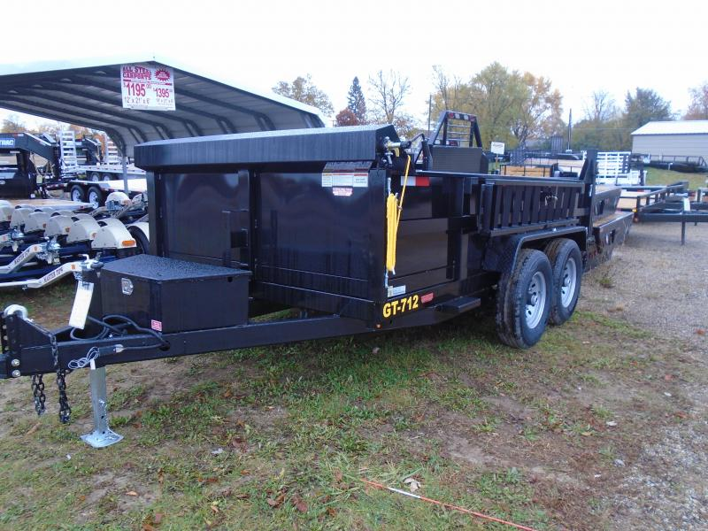 2020 Interstate 7x12 dual ram 12k Dump Trailer