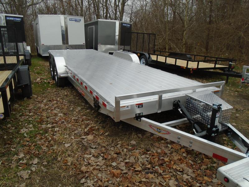 "2020 H & H Trailers 82""x24' All aluminum Speedloader 14k Tilt   Car / Racing Trailer"