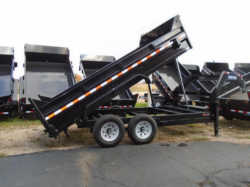 2020 Sure-Trac 82 IN X 16 LP 14K Goose Telescopic Dump