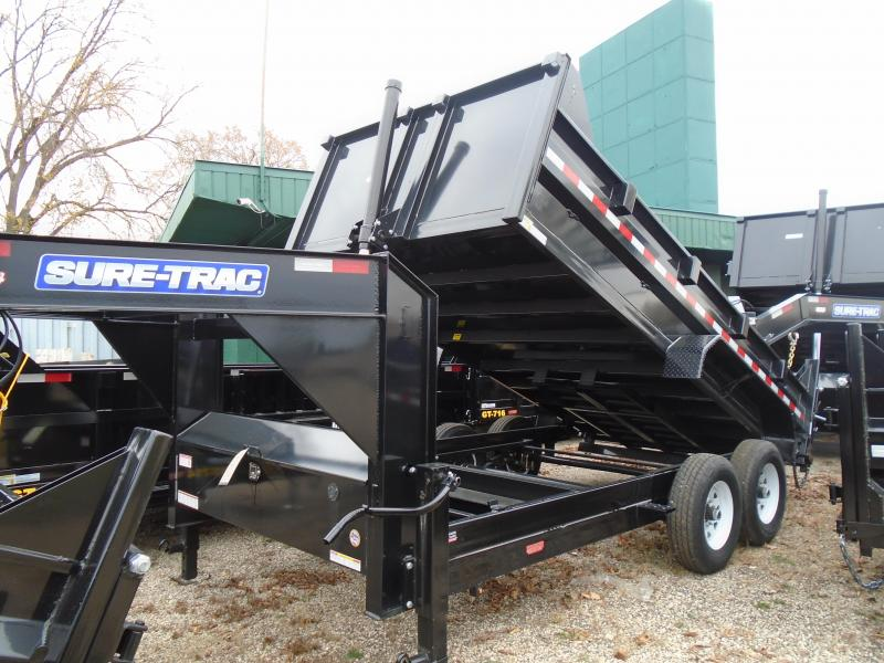 2020 Sure-Trac 82 IN X 16 LP 14K Goose Scissor Dump
