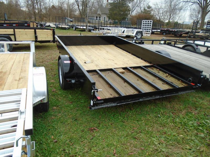 2020 H & H Trailers 7x12 steel high side Utility Trailer