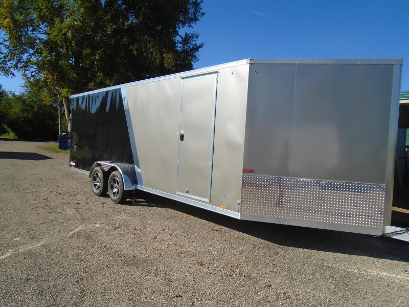 2020 Cargo Express 7x27 AX Series 7k Snowmobile Trailer