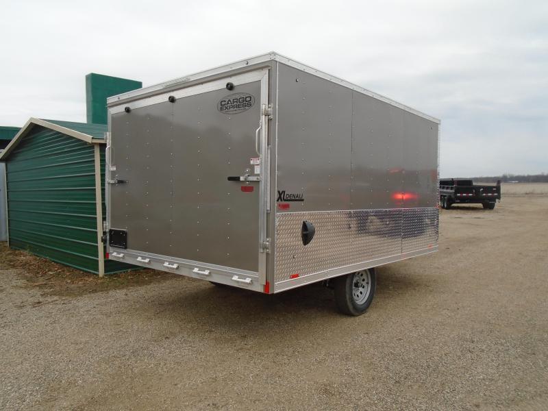 2020 Cargo Express 8.5x12 Denali SA Snowmobile Trailer