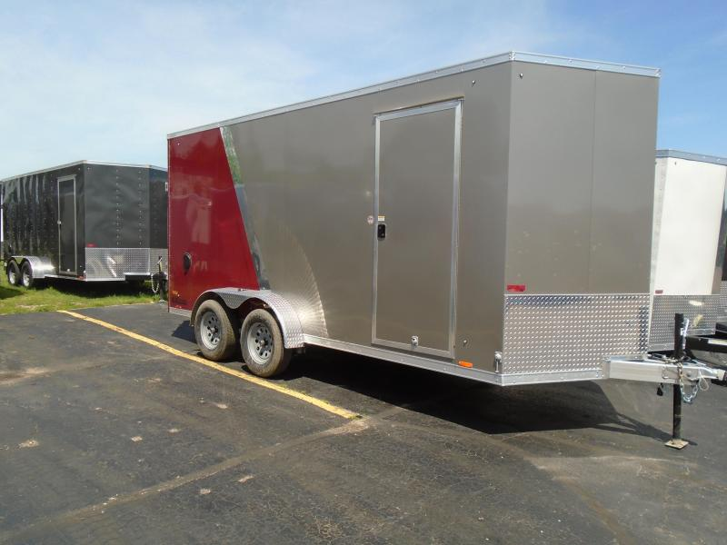 2020 Cargo Express 7x16 7k AX Series All aluminium Enclosed Cargo Trailer