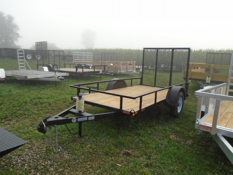 2020 GE 5x10 utility A frame Trailer 2k w/ gate