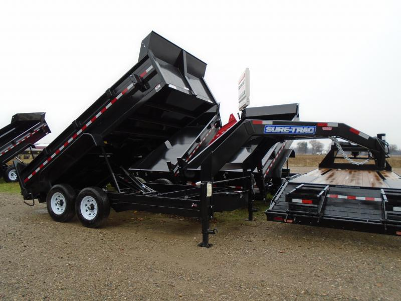 2019 Sure-Trac 82 IN X 16 LP 14K Goose Scissor Dump
