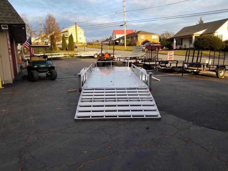 2020 Rance Aluminum Trailers RRU6518TA2 ATV Trailer