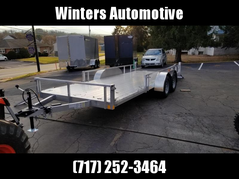 2020 Rance Aluminum Trailers RRU6518TA2 ATV Trailer
