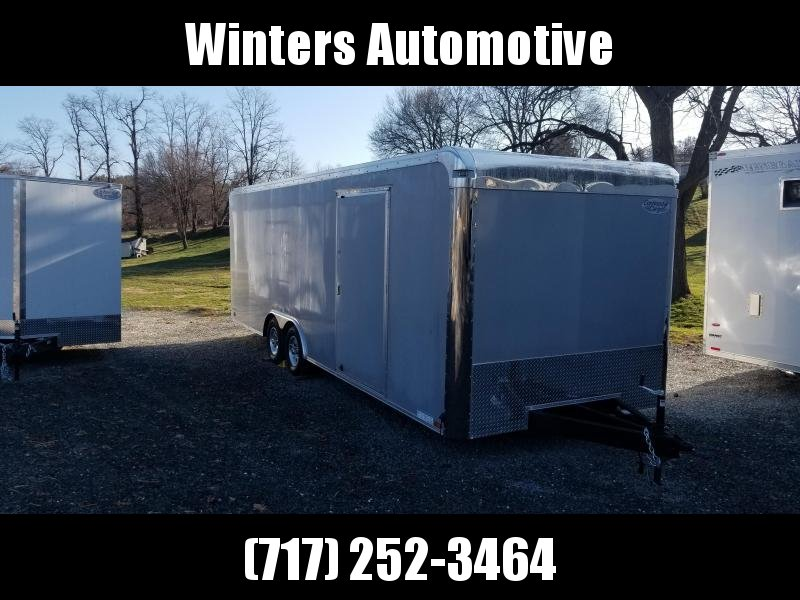 2019 Continental Cargo AM 8.5X24 TA3 Car / Racing Trailer
