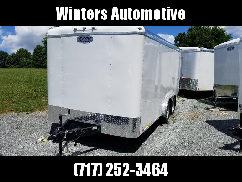 2020 Continental Cargo TW816TA2 Enclosed Cargo Trailer