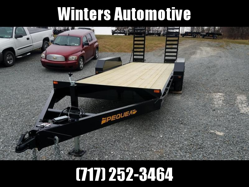 2020 Pequea SKID STEER 20 Equipment Trailer