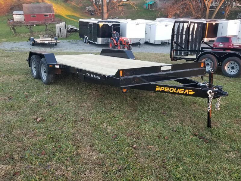 2020 Pequea CH 18 CAR HAULER Car / Racing Trailer