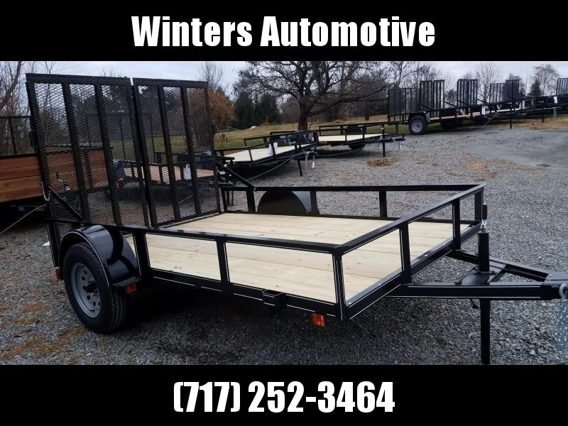 2019 Pequea 6X10  WITH RAMPS Utility Trailer