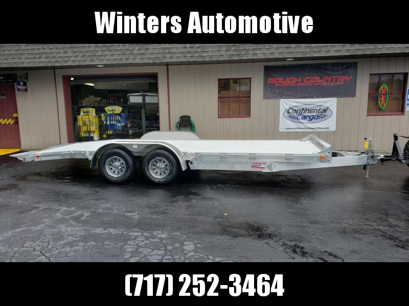 2019 American Hauler Industries ALFAT820TA3 Car / Racing Trailer