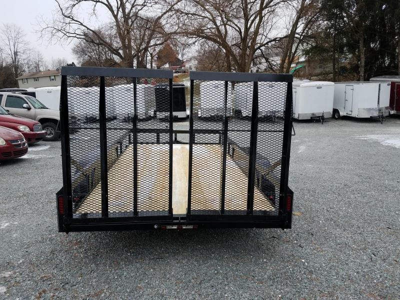 2019 Pequea 80x14 Utility Trailer with ramps
