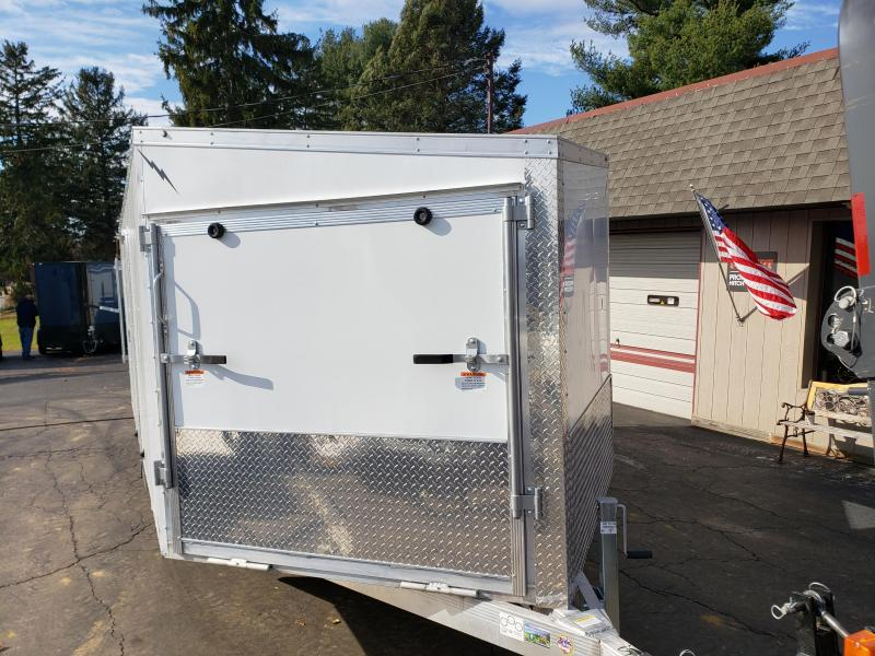 2020 Lightning Trailers LTFES816TA Snowmobile Trailer