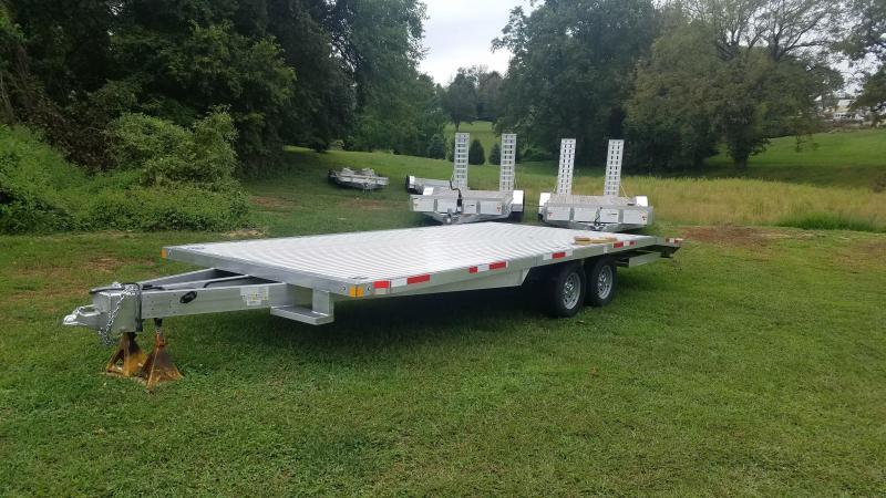 2020 Rance Aluminum Trailers RRUA822TA3 Flatbed Trailer