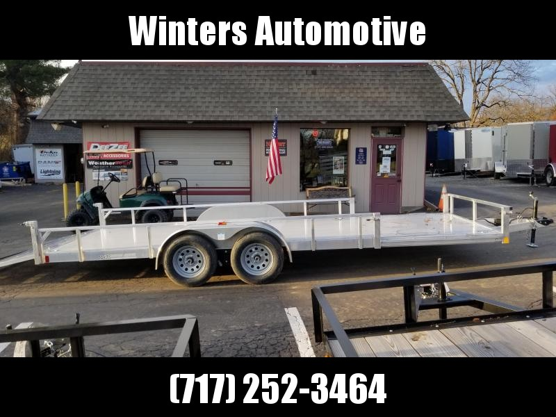 2020 Rance Aluminum Trailers RRU6520TA2 ATV Trailer