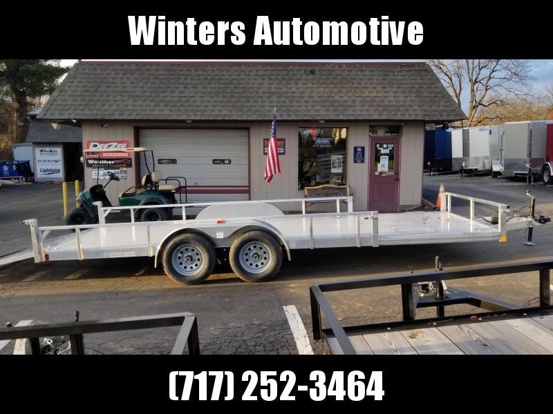 2020 Rance Aluminum Trailers RRU6520TA2 ATV Trailer