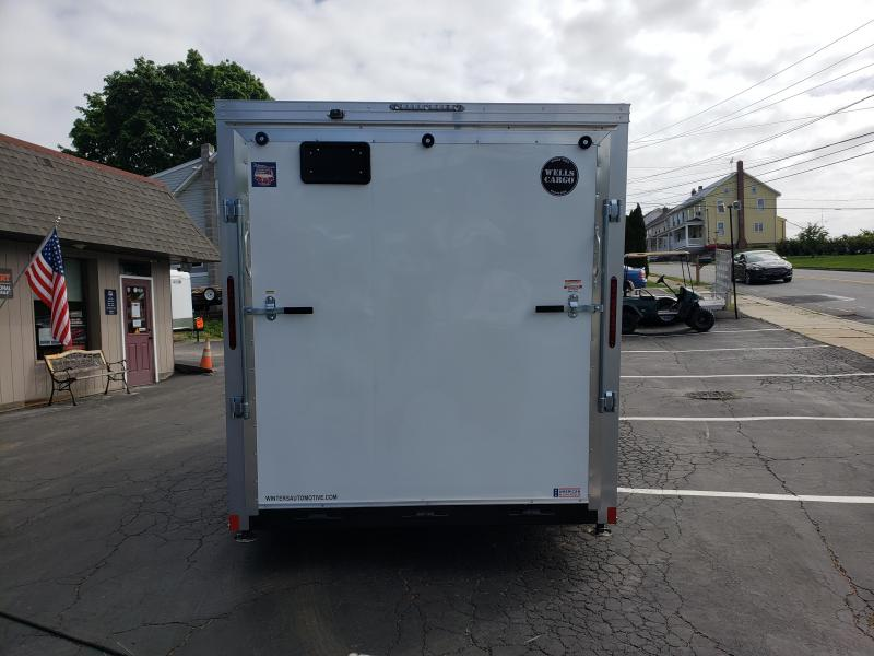 2020 Wells Cargo RFV714TA2 Enclosed Cargo Trailer