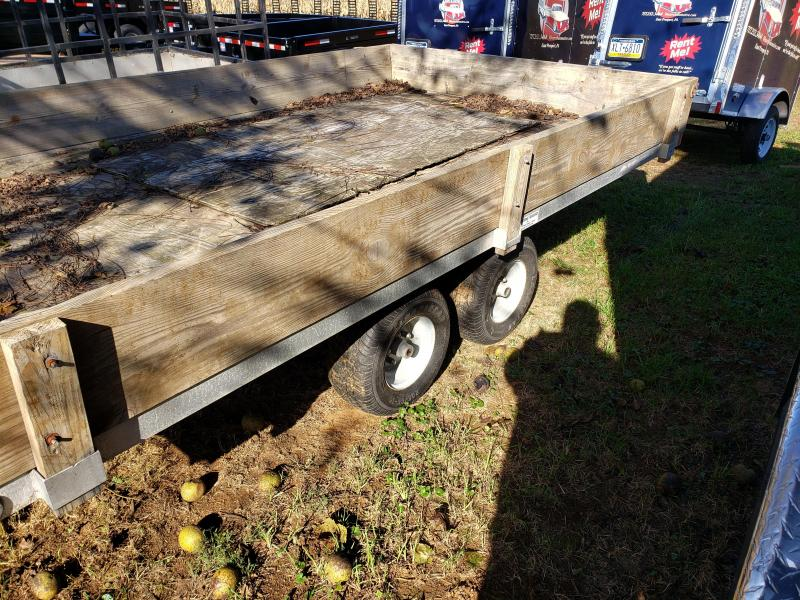 2005 Worthington Trailers 7 X 12 Aluminum Flatbed Trailer