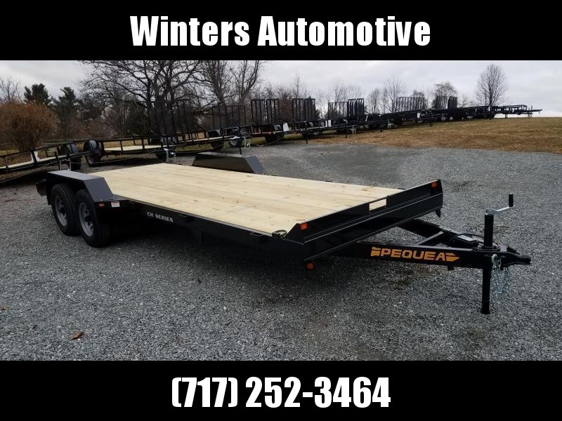2019 Pequea CH 20 Car / Racing Trailer