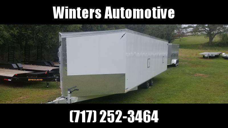2020 Lightning Trailers LTFES824TA Snowmobile Trailer