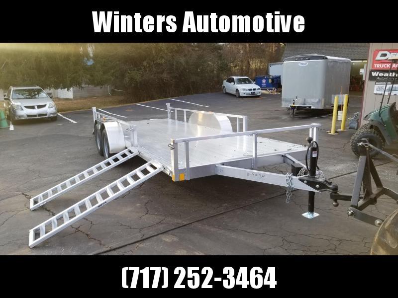 2020 Rance Aluminum Trailers RRU6514TA2 ATV Trailer