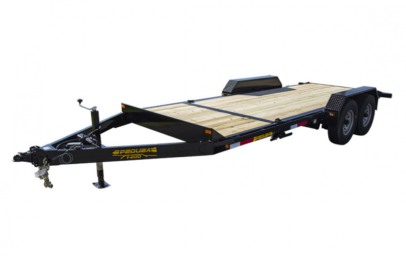 2019 Pequea T200 20 TILT DECK Equipment Trailer