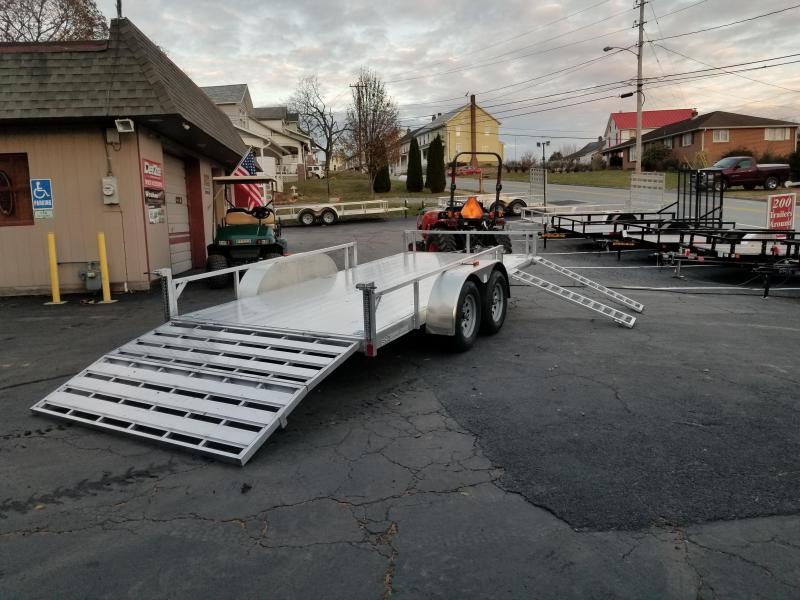 2020 Rance Aluminum Trailers RRU6514TA2 ATV Trailer