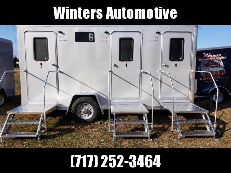 2020 Forest River 616SA 3 STALL Restroom Trailer