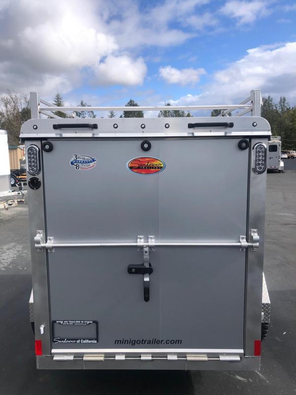 2020 Sundowner Tuff-Go 5 x 8 Enclosed Cargo Trailer