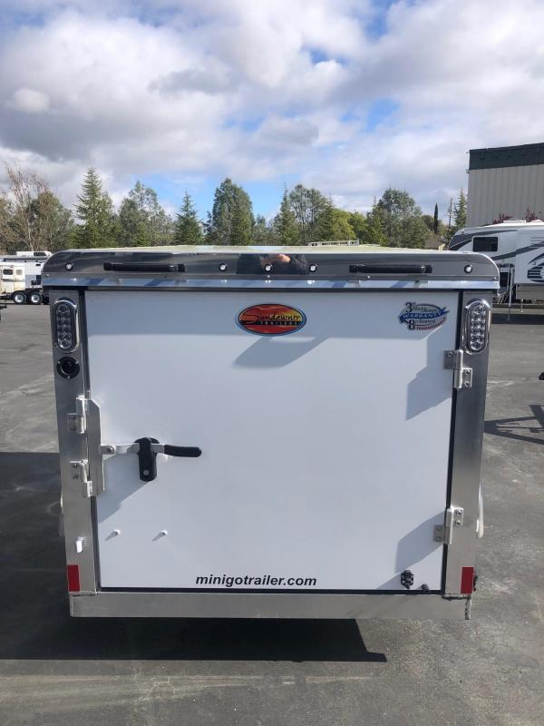2021 Sundowner 5 x 8 Mini-Go Enclosed Cargo Trailer