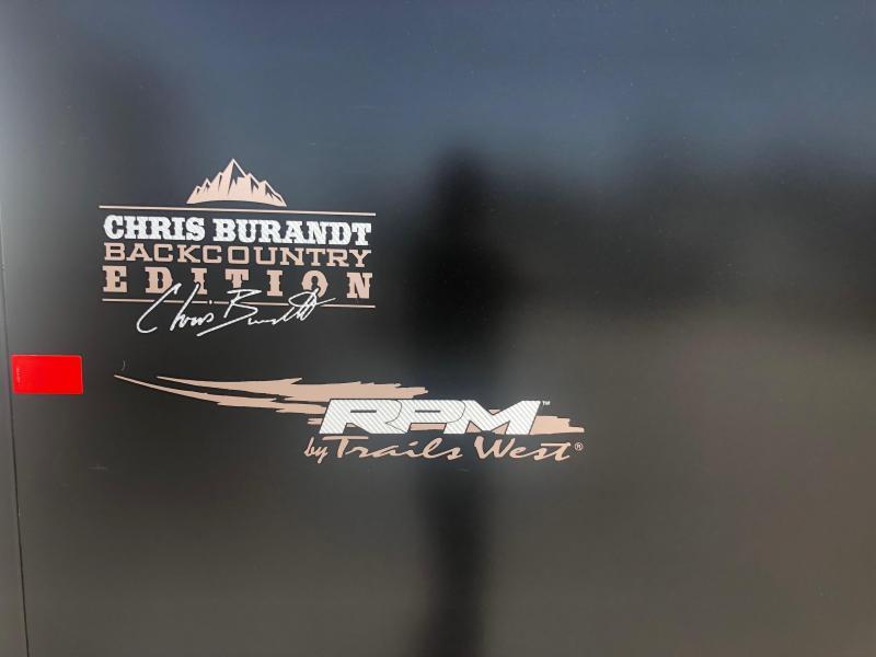 2019 Trails West Manufacturing RPM 20 BP Snowmobile Trailer