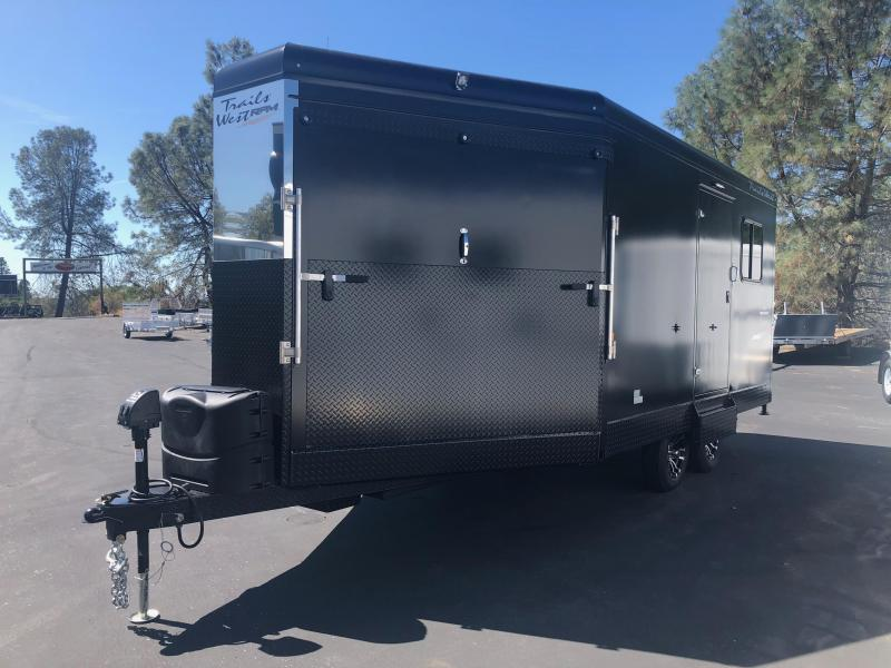 2019 Trails West Manufacturing RPM 20 BP Snowmobile Trailer