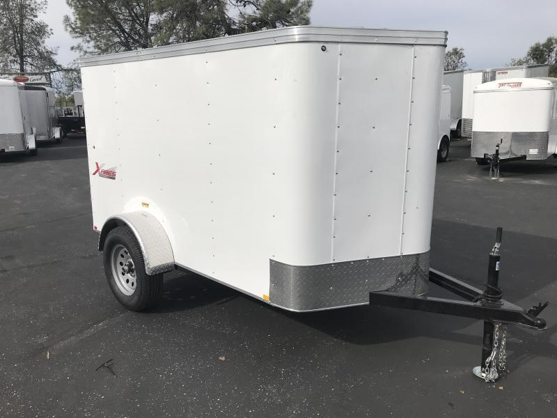 2019 TNT 5 x 8 XPRES V Nose Enclosed