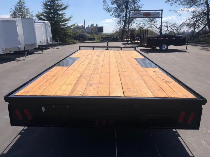 2020 R and J Trailers Inc 8.5 x 18' Deck Over 10K Equipment Trailer Equipment Trailer