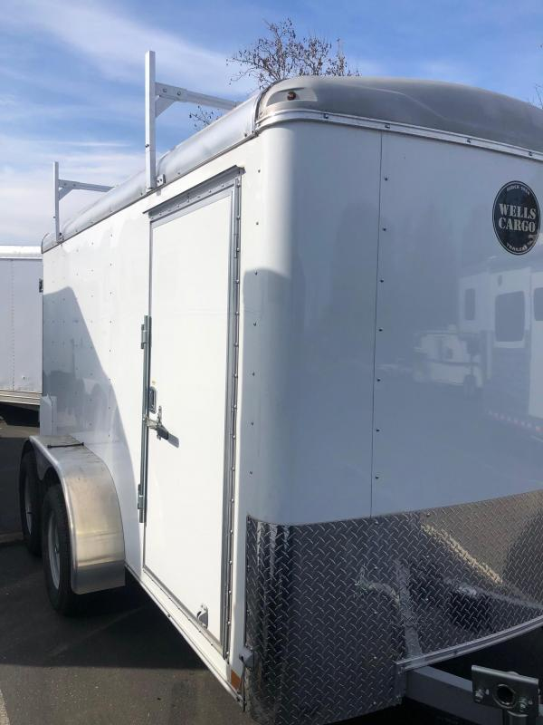 2018 Wells Cargo Road Force 6x12 Enclosed Cargo Trailer