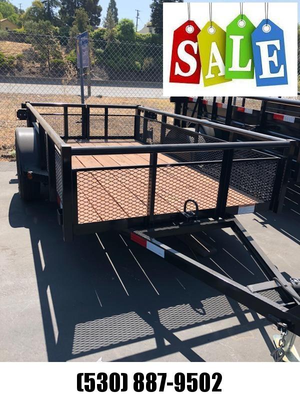 2018 R and J Trailers Inc 5 X 10 Tilt Bed 2.9K Equipment Trailer
